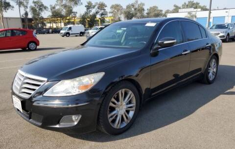 2011 Hyundai Genesis for sale at SoCal Auto Auction in Ontario CA