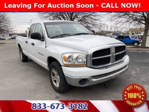 2006 Dodge Ram Pickup 1500 for sale at Glenbrook Dodge Chrysler Jeep Ram and Fiat in Fort Wayne IN