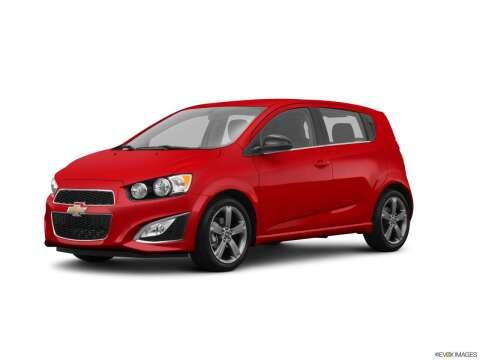 2016 Chevrolet Sonic for sale at Bourne's Auto Center in Daytona Beach FL