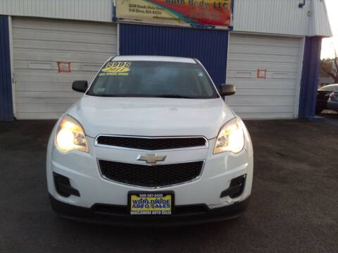2011 Chevrolet Equinox for sale at Worldwide Auto Sales in Fall River MA