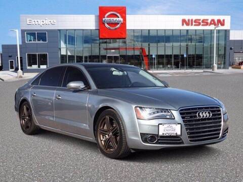 2012 Audi A8 L for sale at EMPIRE LAKEWOOD NISSAN in Lakewood CO