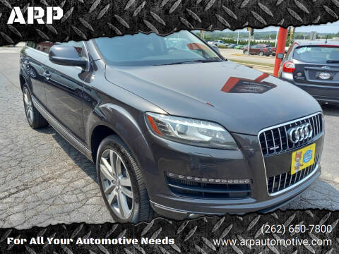 2011 Audi Q7 for sale at ARP in Waukesha WI