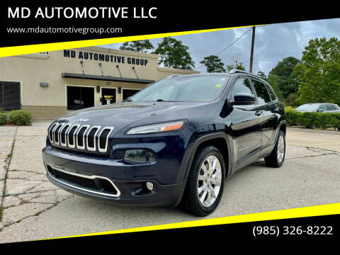 2014 Jeep Cherokee for sale at MD AUTOMOTIVE LLC in Slidell LA