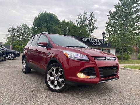 2013 Ford Escape for sale at Rite Track Auto Sales in Canton MI