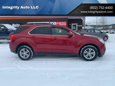 2013 Chevrolet Equinox for sale at Integrity Auto LLC in Sheldon VT