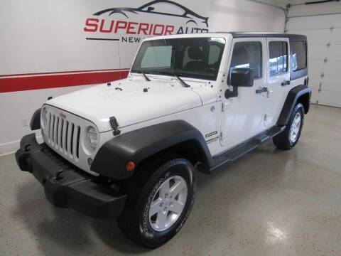 2015 Jeep Wrangler Unlimited for sale at Superior Auto Sales in New Windsor NY