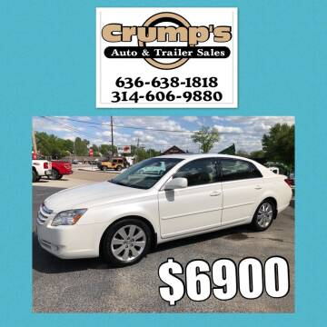 2006 Toyota Avalon for sale at CRUMP'S AUTO & TRAILER SALES in Crystal City MO