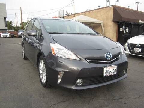 2014 Toyota Prius v for sale at Win Motors Inc. in Los Angeles CA