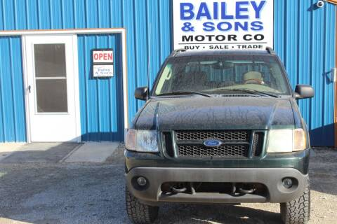 2004 Ford Explorer Sport Trac for sale at Bailey & Sons Motor Co in Lyndon KS