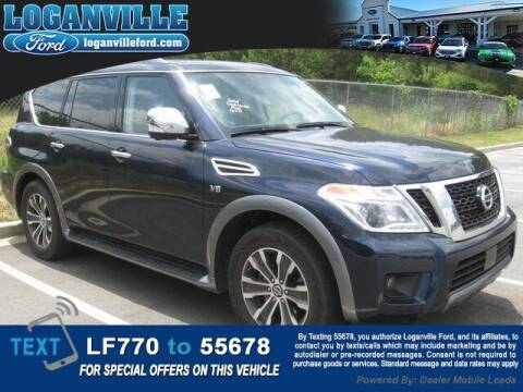 2020 Nissan Armada for sale at Loganville Quick Lane and Tire Center in Loganville GA
