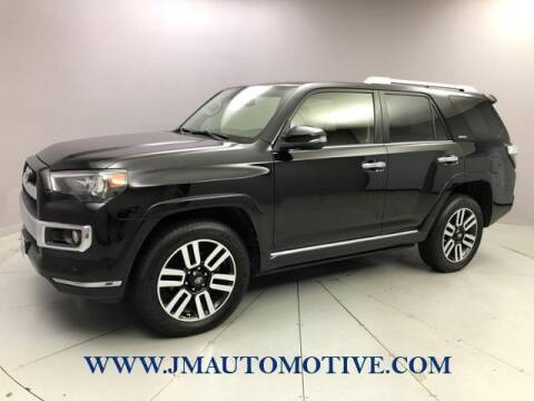 2015 Toyota 4Runner for sale at J & M Automotive in Naugatuck CT