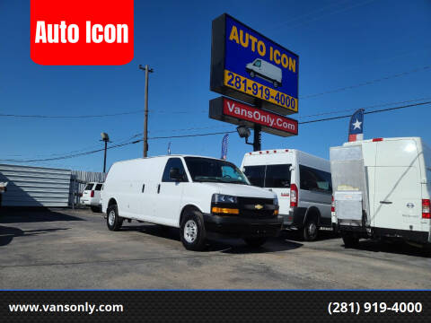 2020 Chevrolet Express Cargo for sale at Auto Icon in Houston TX