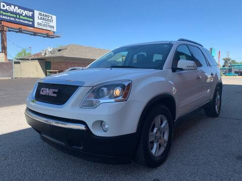 2009 GMC Acadia for sale at Boise Motorz in Boise ID
