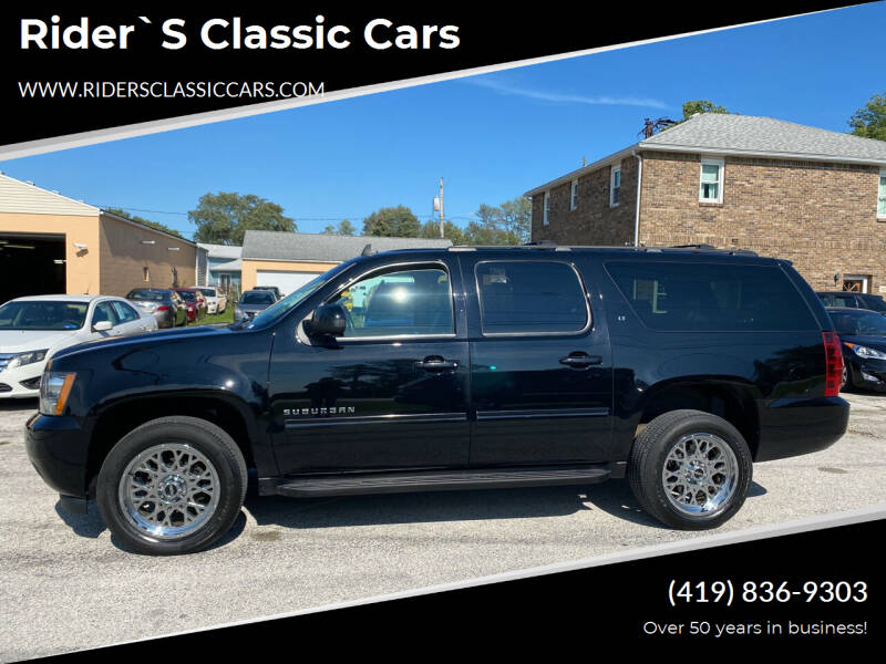 2014 Chevrolet Suburban for sale at Rider`s Classic Cars in Millbury OH