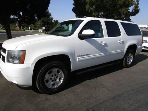 2014 Chevrolet Suburban for sale at KM MOTOR CARS in Modesto CA