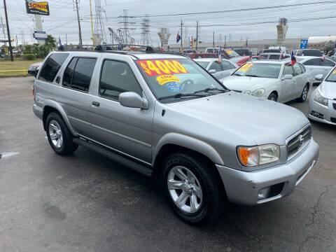 2002 Nissan Pathfinder for sale at Texas 1 Auto Finance in Kemah TX
