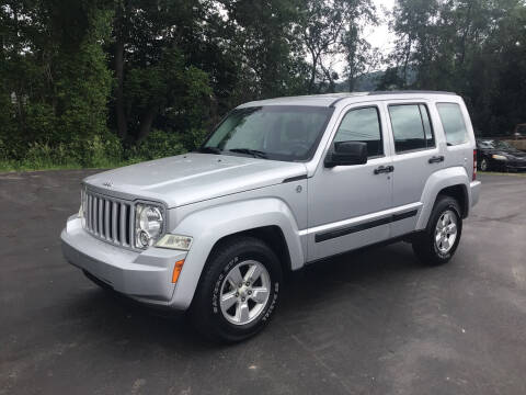 2012 Jeep Liberty for sale at AFFORDABLE AUTO SVC & SALES in Bath NY