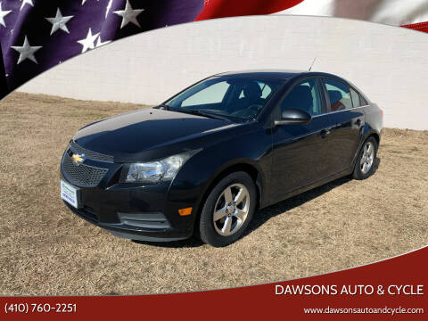 2014 Chevrolet Cruze for sale at Dawsons Auto & Cycle in Glen Burnie MD