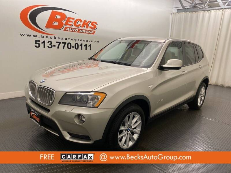 2014 BMW X3 for sale at Becks Auto Group in Mason OH