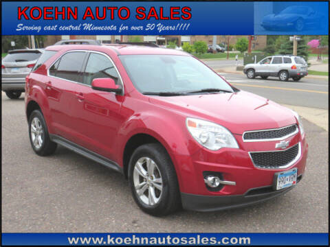 2014 Chevrolet Equinox for sale at Koehn Auto Sales in Lindstrom MN