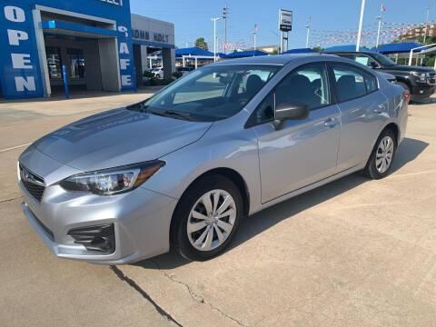 2019 Subaru Impreza for sale at JOHN HOLT AUTO GROUP, INC. in Chickasha OK