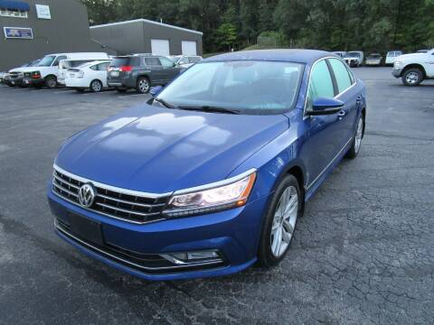 2017 Volkswagen Passat for sale at Route 12 Auto Sales in Leominster MA