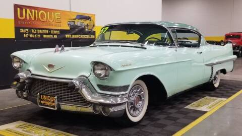 1957 Cadillac DeVille for sale at UNIQUE SPECIALTY & CLASSICS in Mankato MN