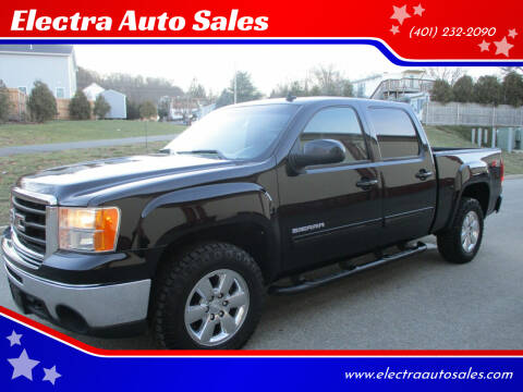 2011 GMC Sierra 1500 for sale at Electra Auto Sales in Johnston RI