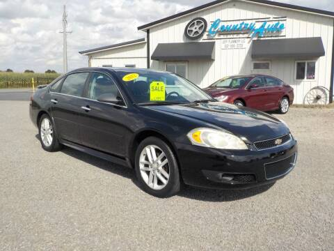 2012 Chevrolet Impala for sale at Country Auto in Huntsville OH
