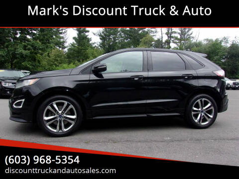 2015 Ford Edge for sale at Mark's Discount Truck & Auto in Londonderry NH