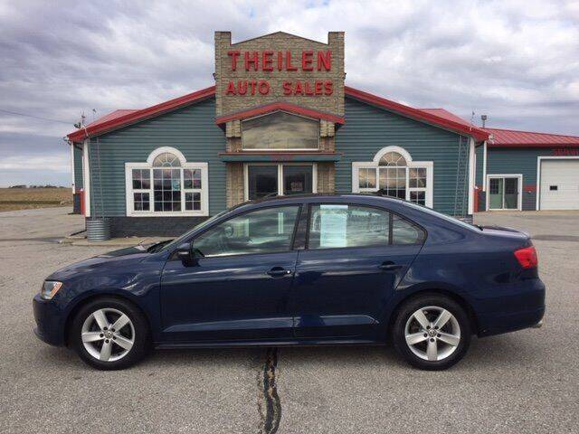 2011 Volkswagen Jetta for sale at THEILEN AUTO SALES in Clear Lake IA