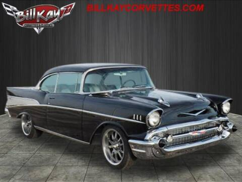 1957 Chevrolet Bel Air for sale at Bill Kay Corvette's and Classic's in Downers Grove IL