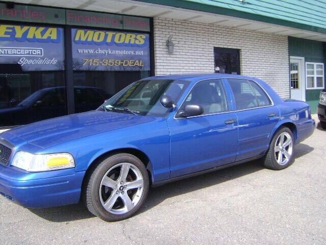 2011 Ford Crown Victoria for sale at Cheyka Motors in Schofield WI