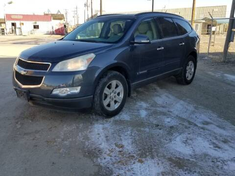 2009 Chevrolet Traverse for sale at KHAN'S AUTO LLC in Worland WY