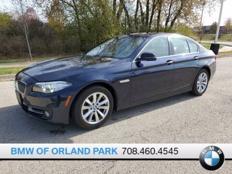 2015 BMW 5 Series for sale at BMW OF ORLAND PARK in Orland Park IL