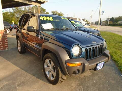 2003 Jeep Liberty for sale at DISCOVER AUTO SALES in Racine WI