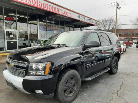 2011 Chevrolet Tahoe for sale at TOP YIN MOTORS in Mount Prospect IL