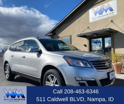2015 Chevrolet Traverse for sale at Western Mountain Bus & Auto Sales in Nampa ID