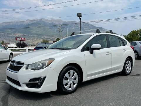 2015 Subaru Impreza for sale at Ultimate Auto Sales Of Orem in Orem UT