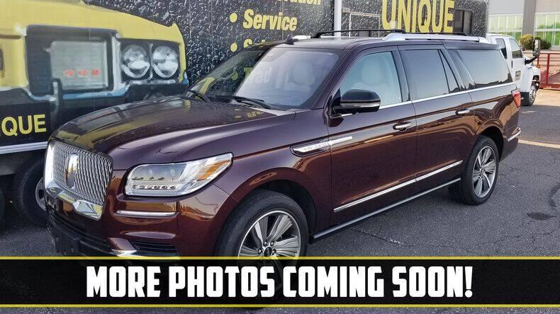 2018 Lincoln Navigator L for sale at UNIQUE SPECIALTY & CLASSICS in Mankato MN