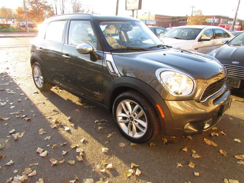 2013 MINI Countryman for sale at Nutmeg Auto Wholesalers Inc in East Hartford CT