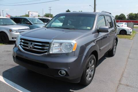 2014 Honda Pilot for sale at Drive Now Auto Sales in Norfolk VA