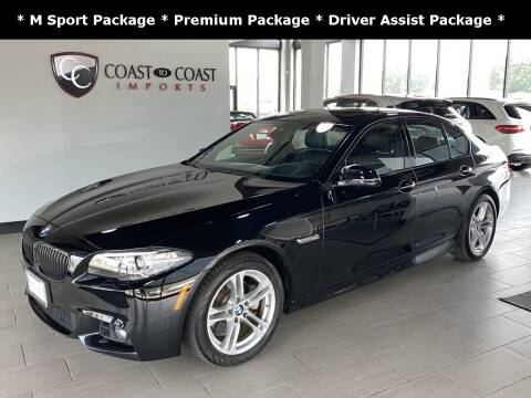 2016 BMW 5 Series for sale at Coast to Coast Imports in Fishers IN