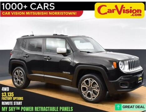 2016 Jeep Renegade for sale at Car Vision Buying Center in Norristown PA