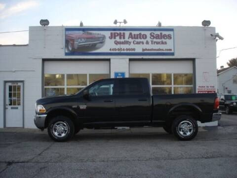 2010 Dodge Ram Pickup 2500 for sale at JPH Auto Sales in Eastlake OH
