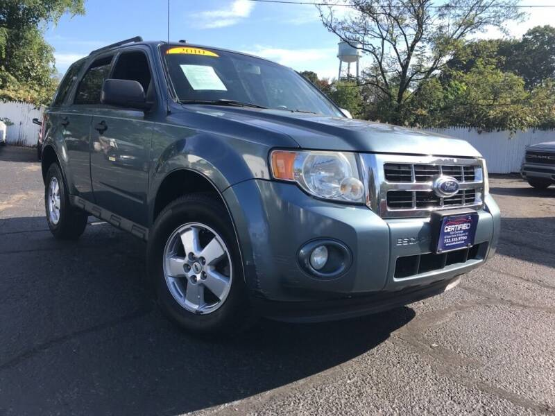 2010 Ford Escape for sale at Certified Auto Exchange in Keyport NJ
