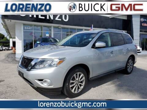 2016 Nissan Pathfinder for sale at Lorenzo Buick GMC in Miami FL