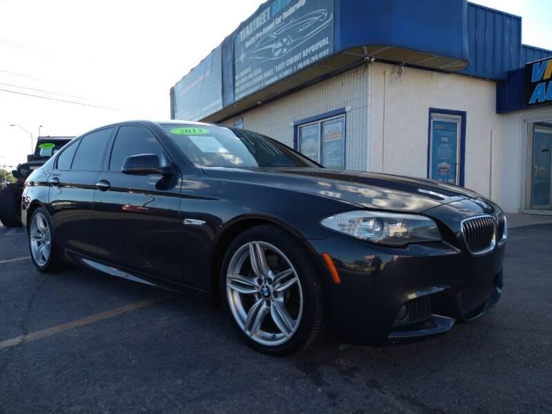 2013 BMW 5 Series for sale at VIVASTREET AUTO SALES LLC - VivaStreet Auto Sales in Socorro TX