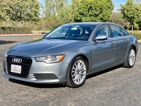 2013 Audi A6 for sale at Silmi Auto Sales in Newark CA