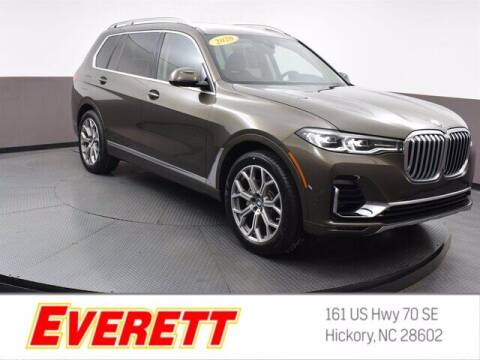 2020 BMW X7 for sale at Everett Chevrolet Buick GMC in Hickory NC